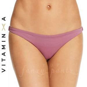 Vitamin A Luciana Bikini Bottom Extra Large Rose